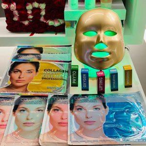 Maschera Led 7 colori onda