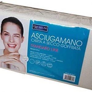Asciugamano Carta a Secco goffrata (60 pz)